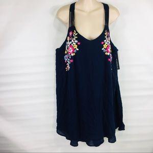 My Michelle Blue Tank Dress size XL
